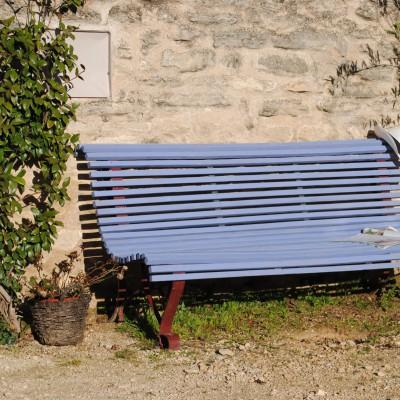 Repos sur un banc