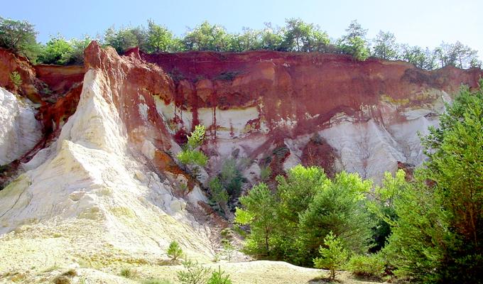Rustrel, ou le colorado Provençal